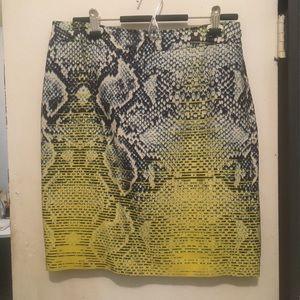 Magaschoni Silk Skirt